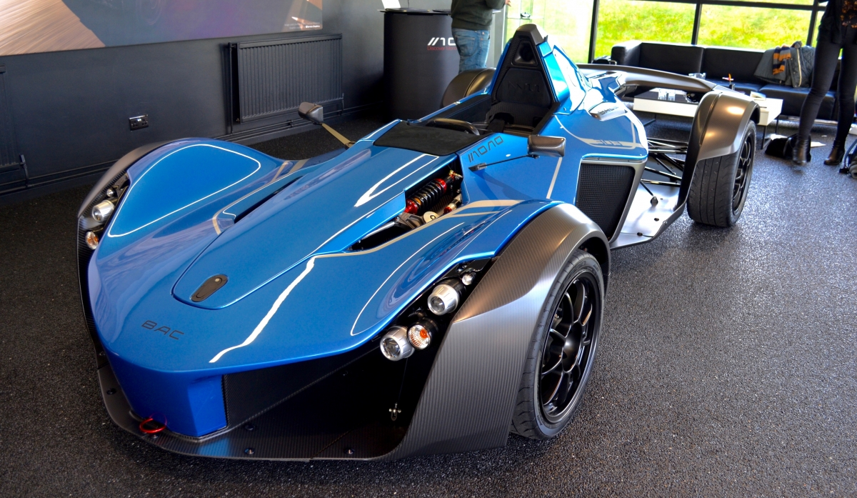 Bac Mono This Liverpool Made Single Seater Supercar Is