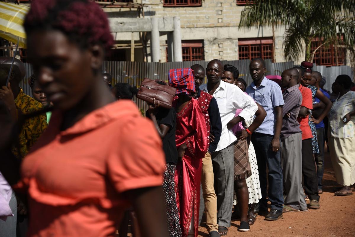Uganda shuts down social media on polling day