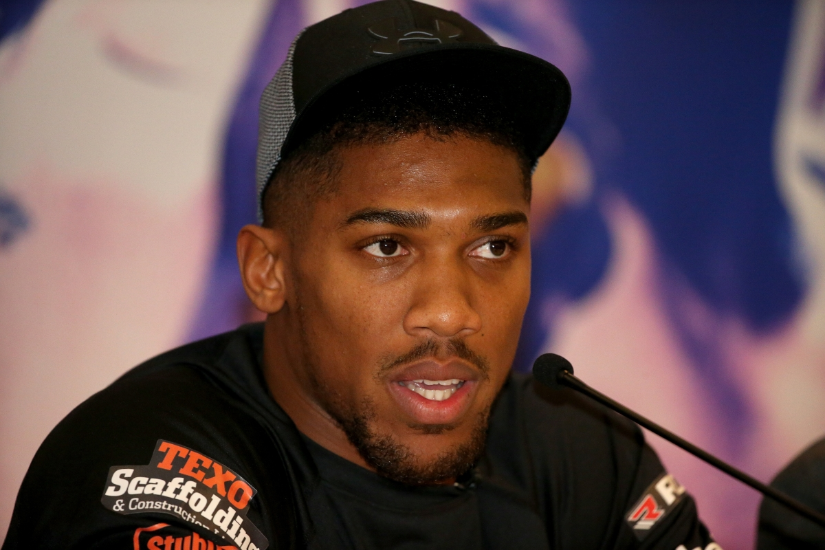 Anthony Joshua Insists No Hiding From Tyson Fury If He