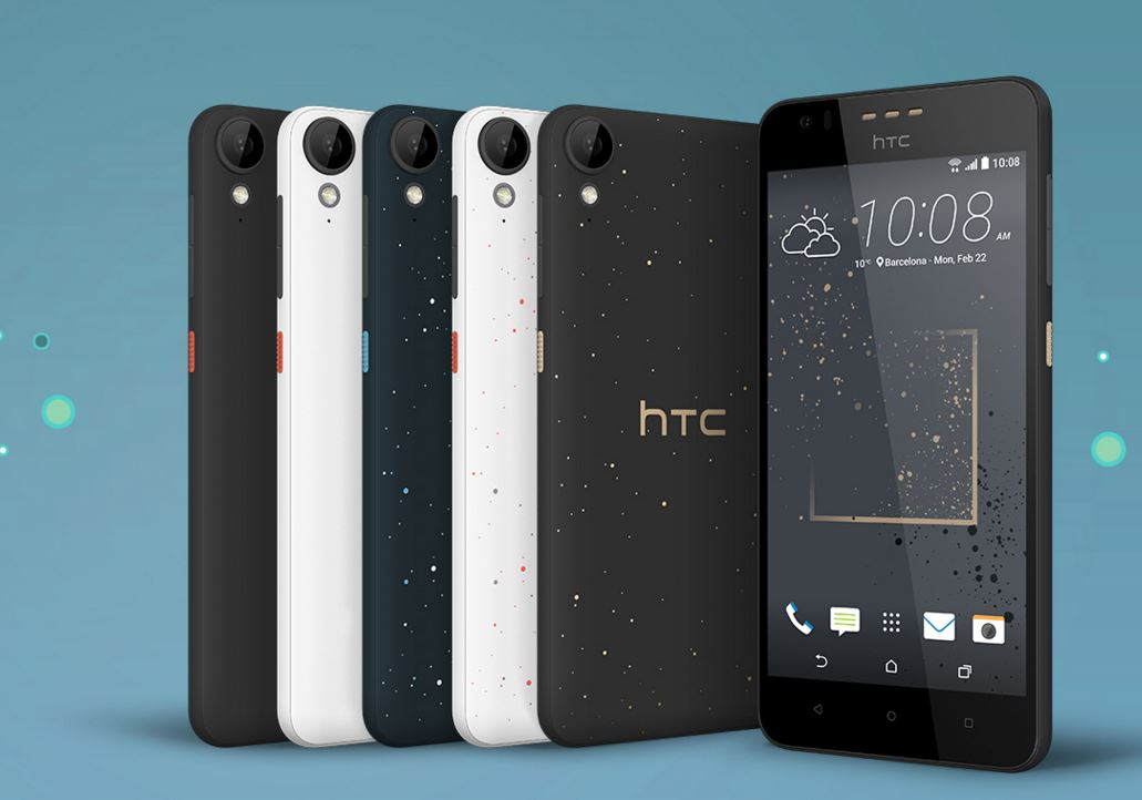 HTC unveils 3 Desire phones with 'streetwear fashion'