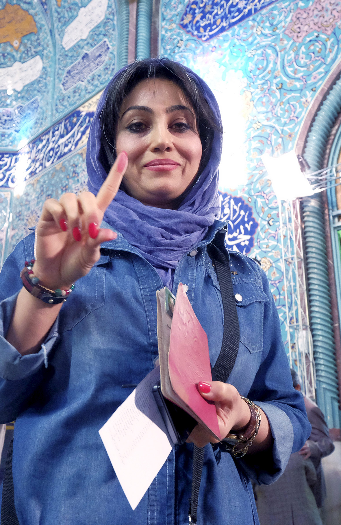 iran elections 2016  people vote for parliament and