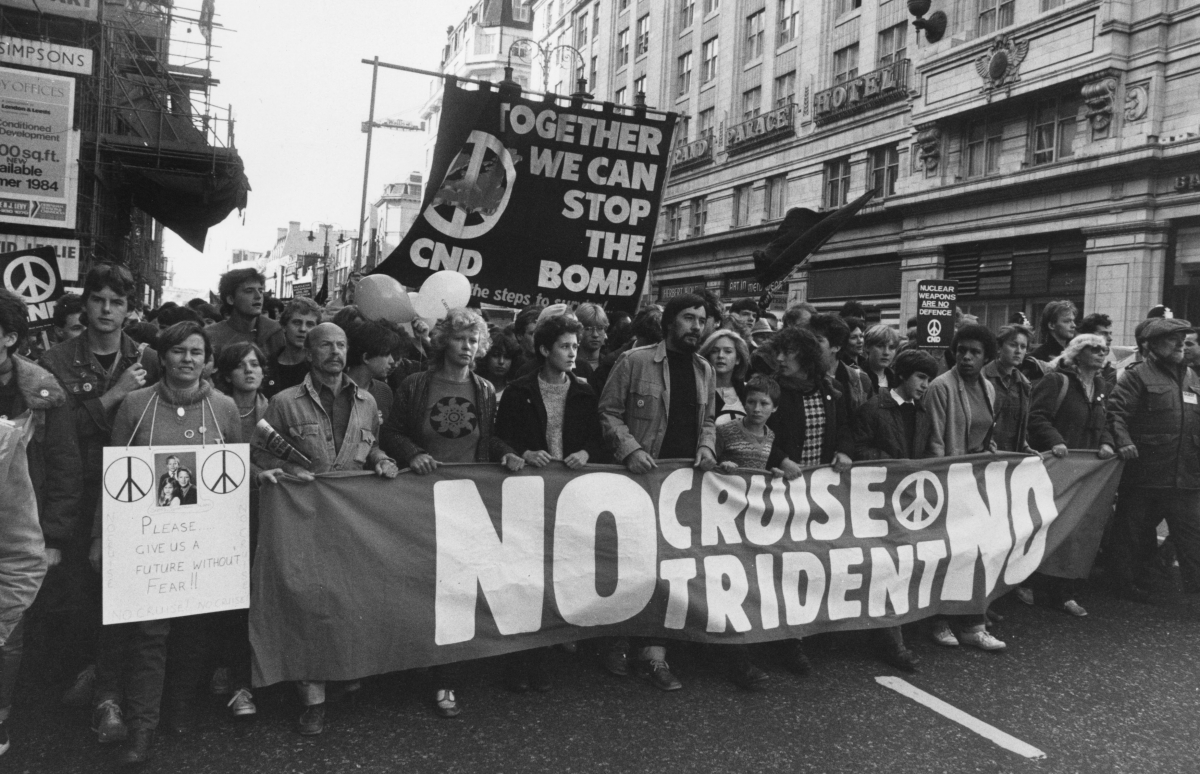 stop trident rally  people have died from cuts  but we can