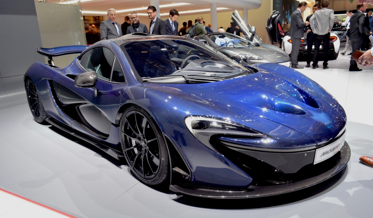 How Much Is A Car Paint Job >> Geneva Motor Show: McLaren P1 pimped with a £200,000 paint job and 24-carat gold heat shield