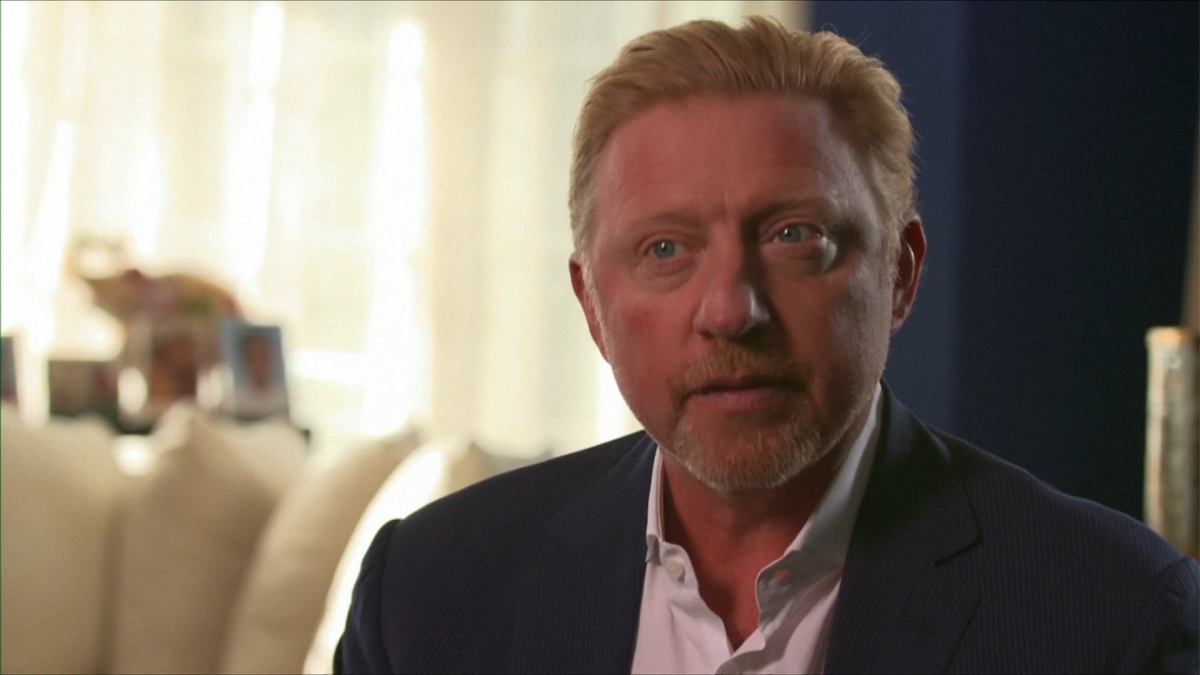 Boris Becker selling his Wimbledon trophies after blowing £20m