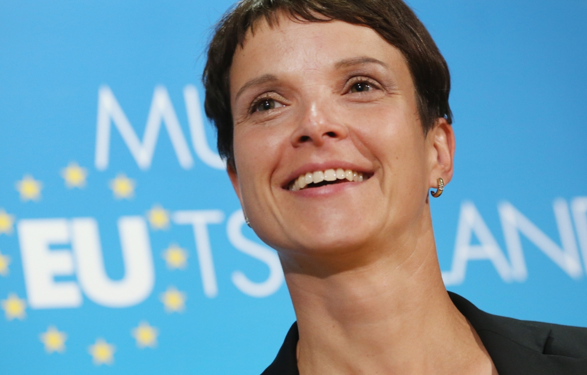 Germany shocked as far-right AfD party chair Frauke Petry quits just hours after being elected