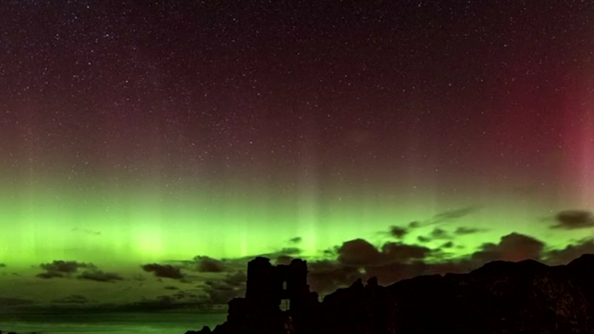 northern lights lit up the coldness of the night Colourful show that lights up the night sky northern lights:  treated to a spectacular show when the northern lights lit up the heavens  coldness.