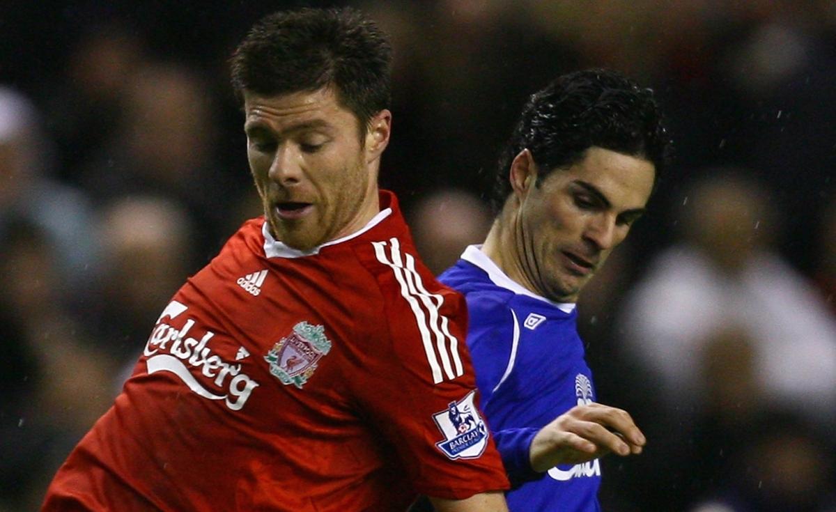 How Liverpool hero Xabi Alonso and Arsenal midfielder Mikel Arteta