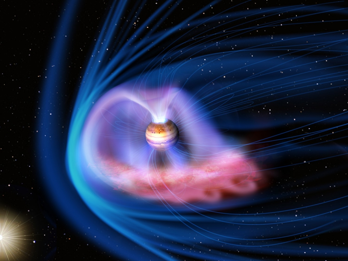 Giant X-ray aurora seen on Jupiter is hundreds of times ...