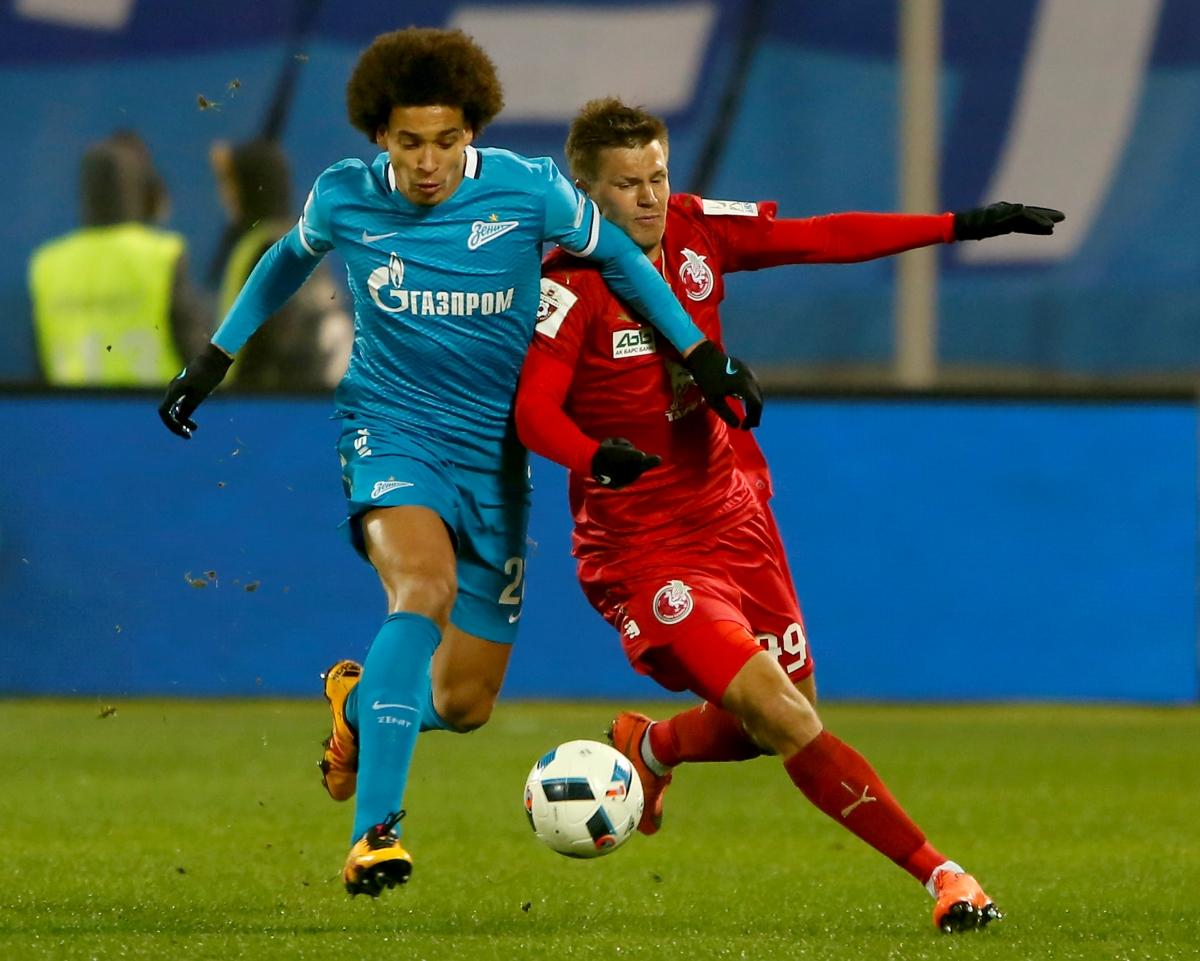 Tottenham Hotspur transfer tar Axel Witsel confirms intention