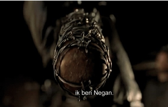 """... season six premiere of """"The Walking Dead,"""" there are spoilers ahead"""