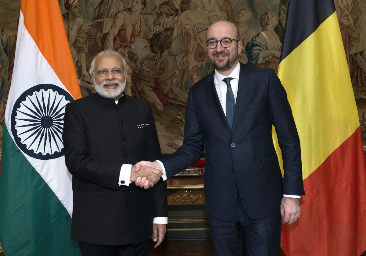 Narendra modi in brussels watch india 39 s prime minister - Prime minister of india office address ...