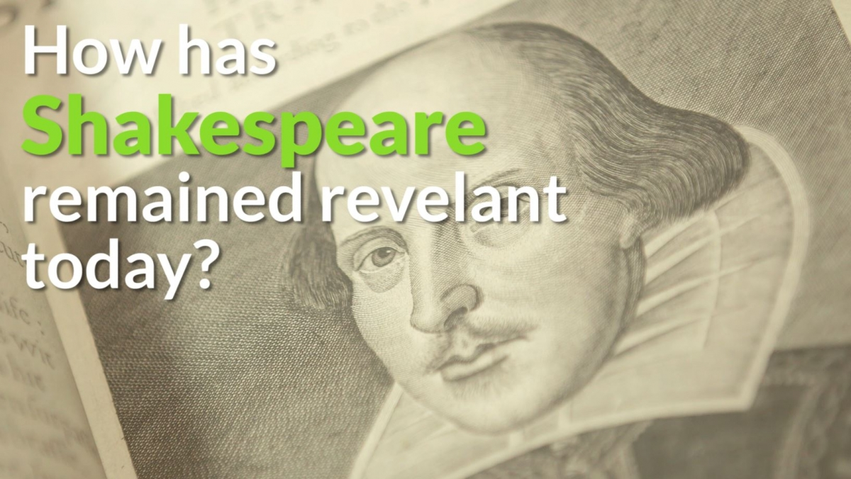 william shakespeares relevance today essay Get an answer for 'why is the shakespearean play macbeth still relevant today' and for an essay title of shakespeare's macbeth is as relevant today as.