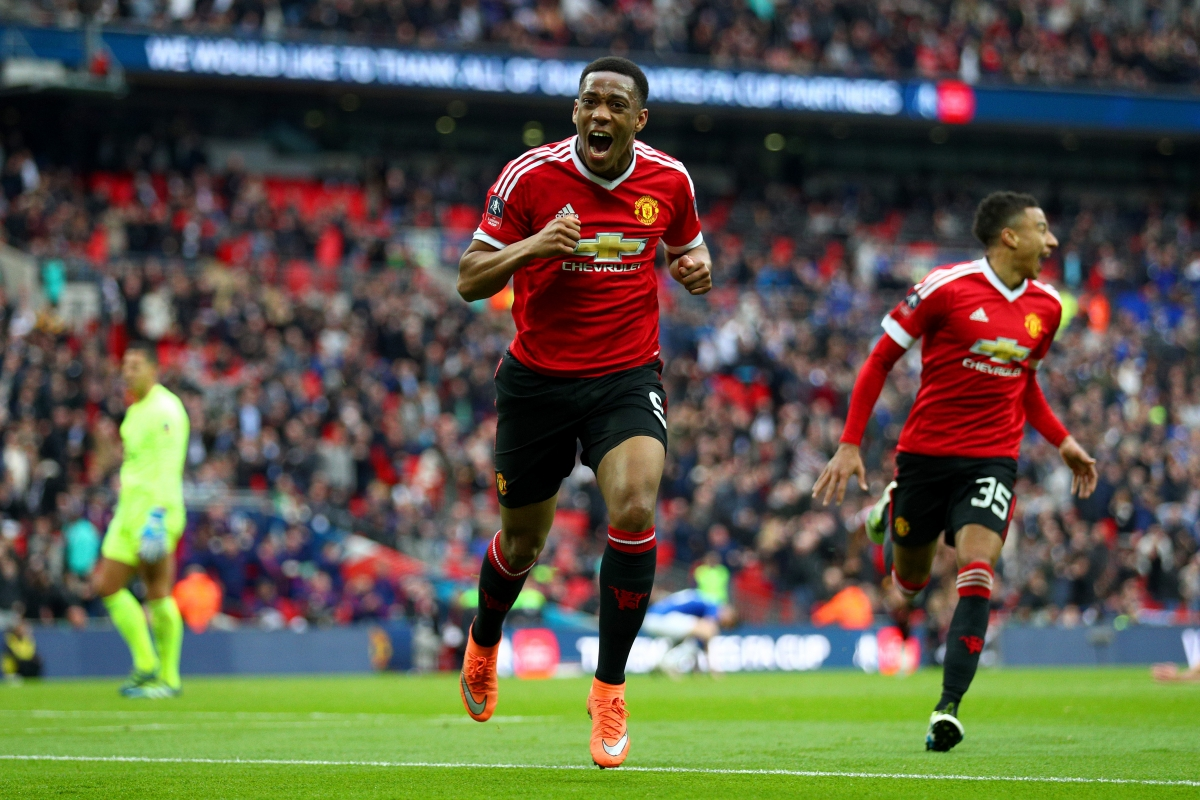 Everton   Manchester United Martial Scores Dramatic Rd Minute Winner To Seal Th Final