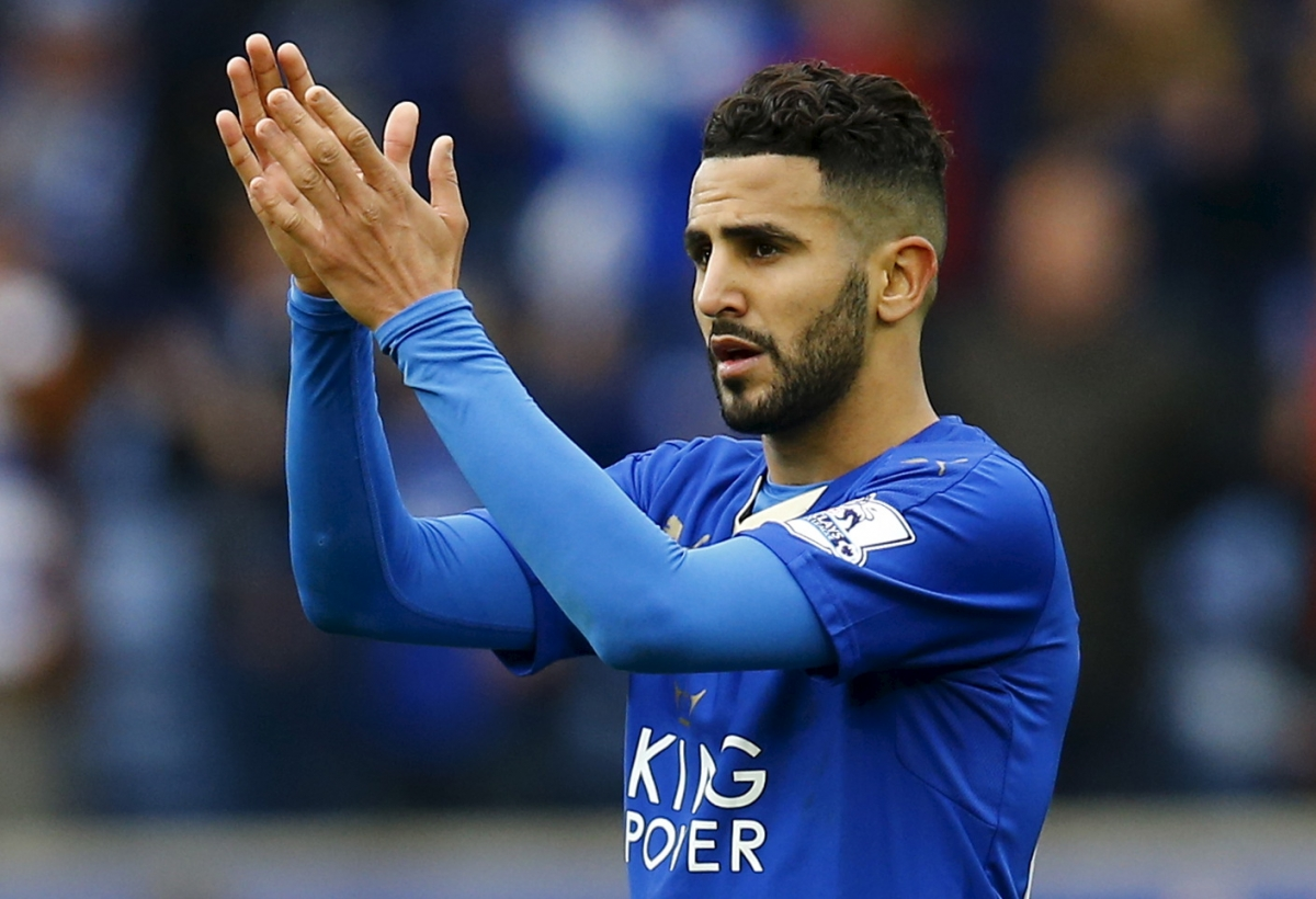 Leicester City star Riyad Mahrez named PFA Player of the Year at