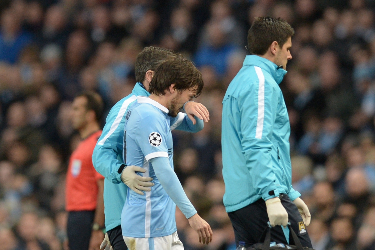 Manchester City 0 0 Real Madrid David Silva a major doubt for