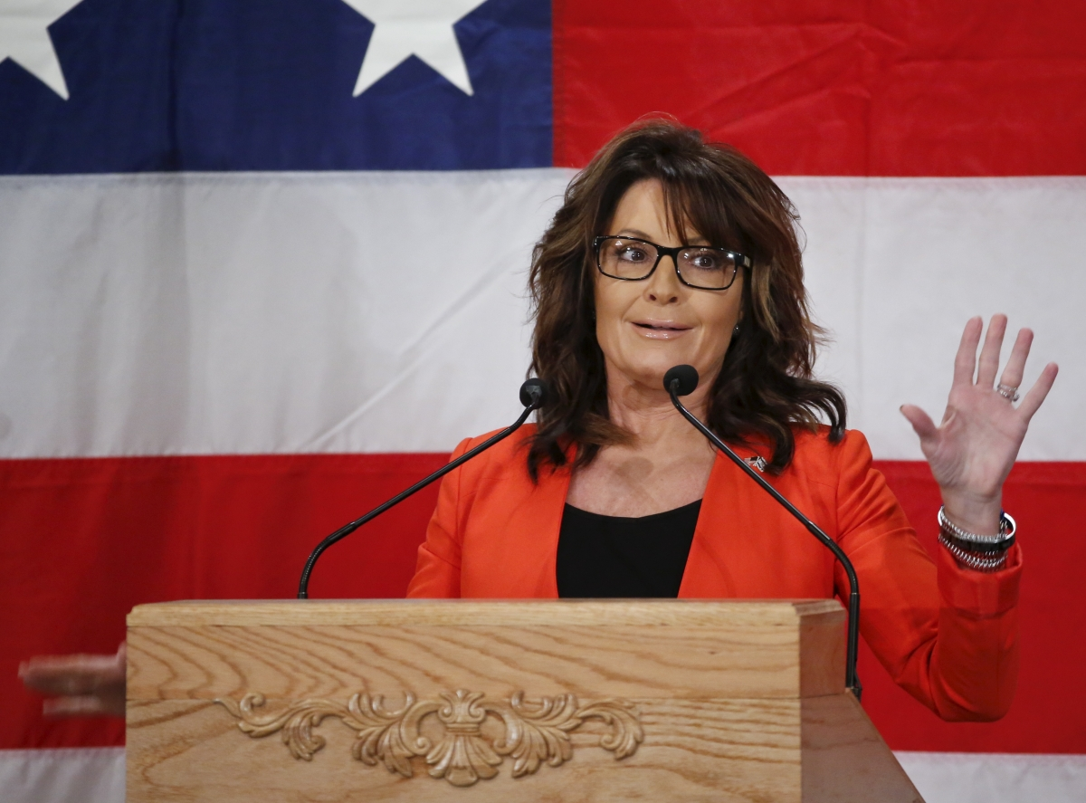 Sarah Palin suggests 'crony capitalism' s responsible for ...