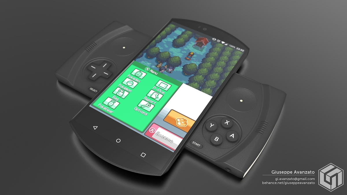 Nintendo Plus Smartphone Concept Want To Play Zelda And