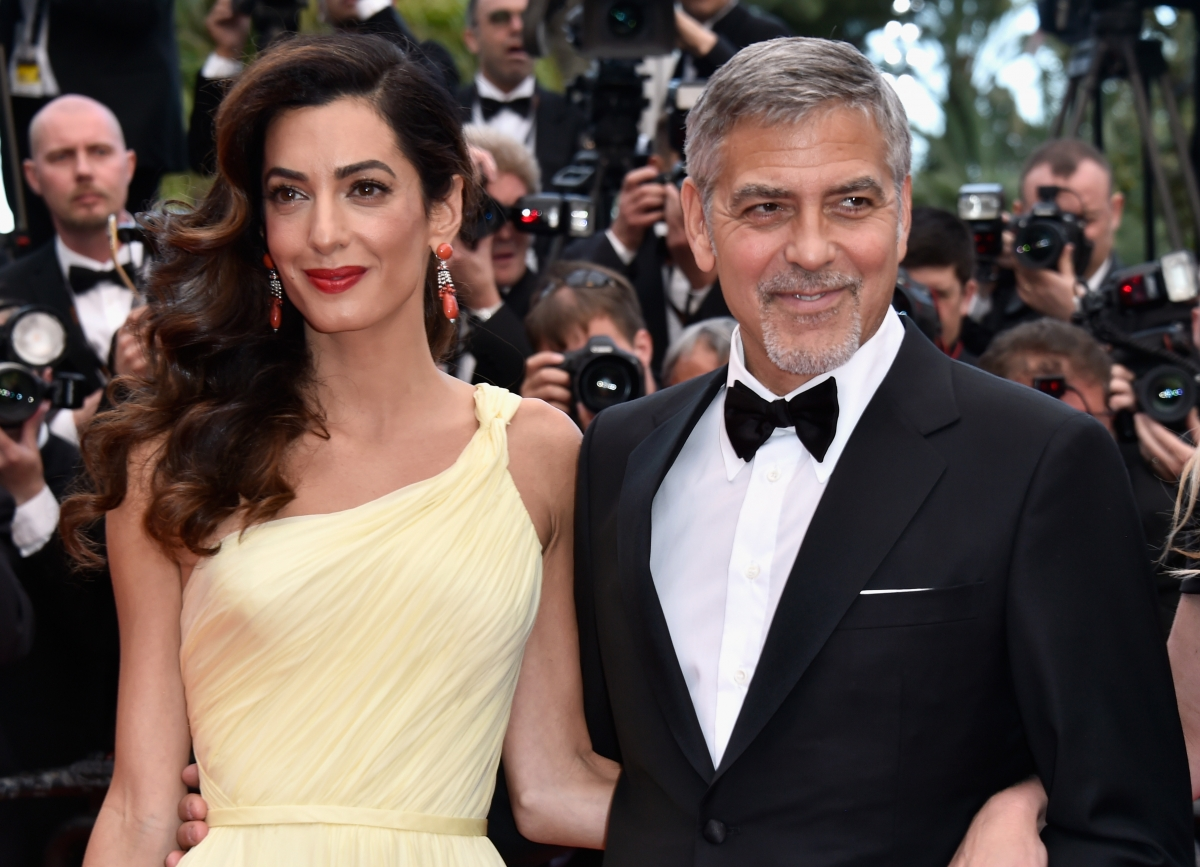 George clooney s wife amal clooney rumoured to be pregnant with twins