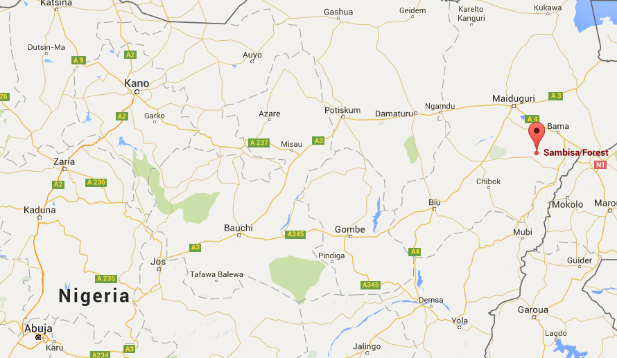 Inside Sambisa Forest The last Boko Haram stronghold and possible