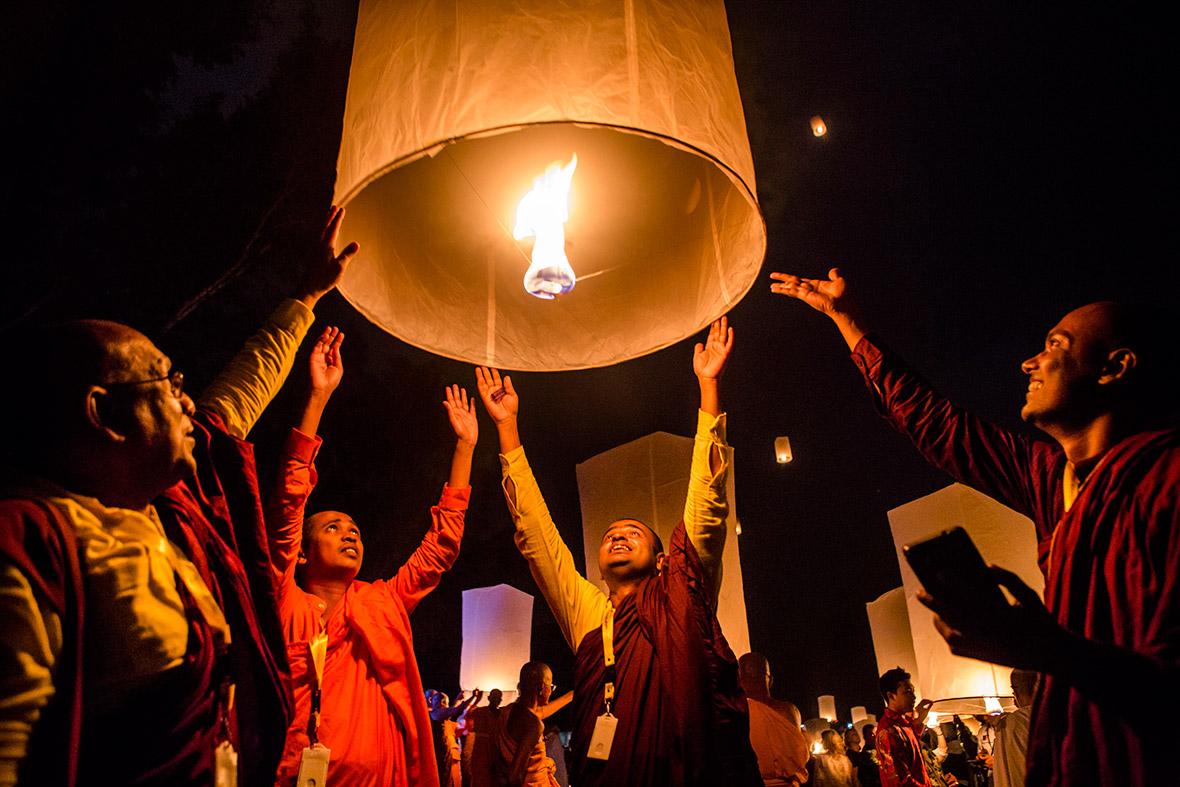 Vesak Day 2016: Photos of colourful celebrations of Buddha's birthday ...