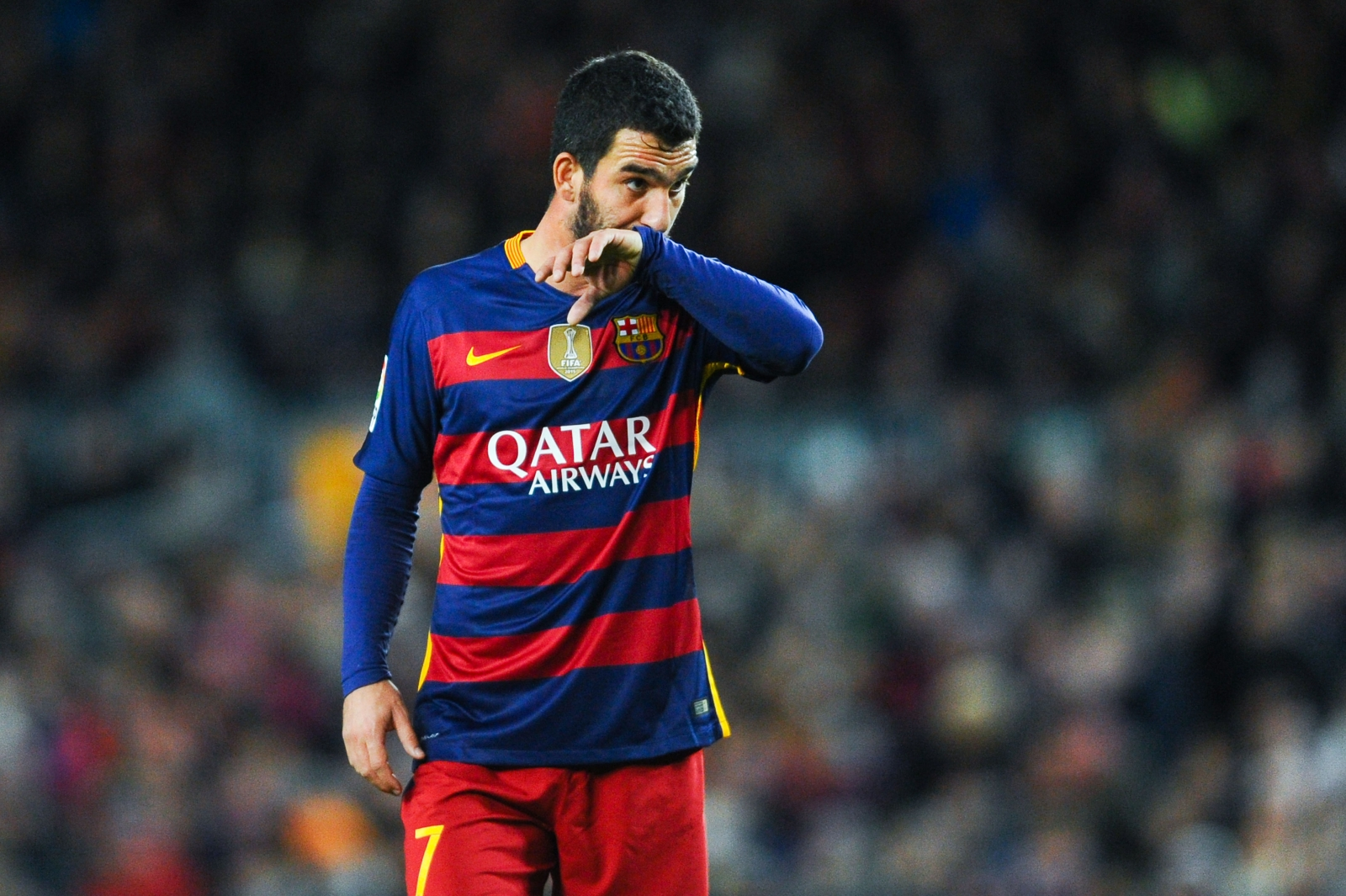 Barcelona s Arda Turan explains controversial like of Real