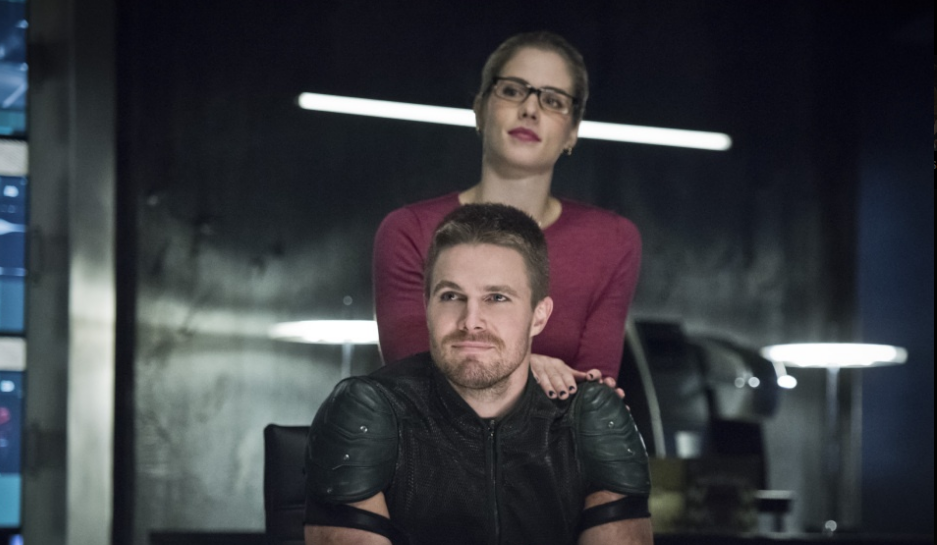 felicity and oliver meet rudolph