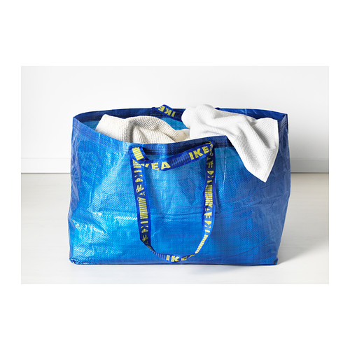 Ikea S Iconic Blue Shopping Bag Gets A Designer Makeover