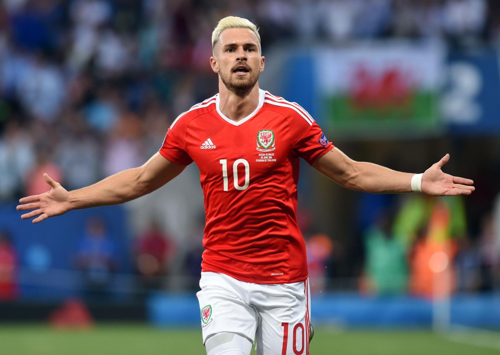 Euro 2016 Chris Coleman praises Aaron Ramsey s Wales performance