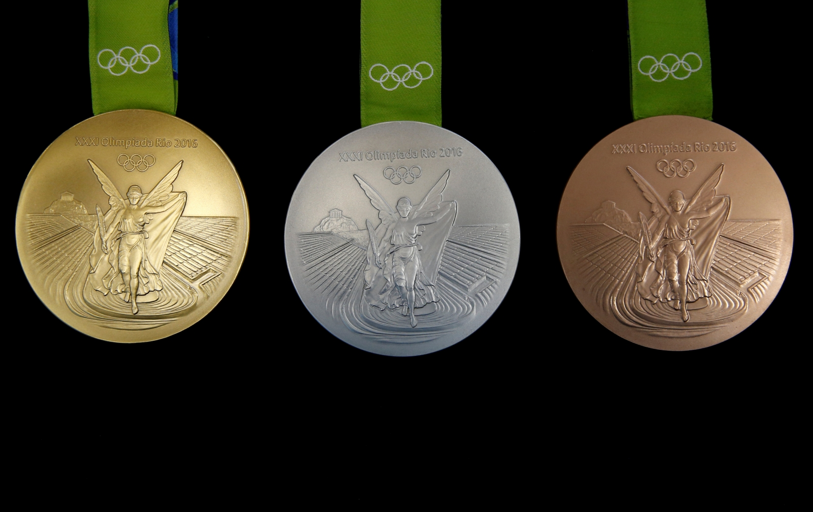 New sensory Paralympic medals created for Rio 2016 for visually ...