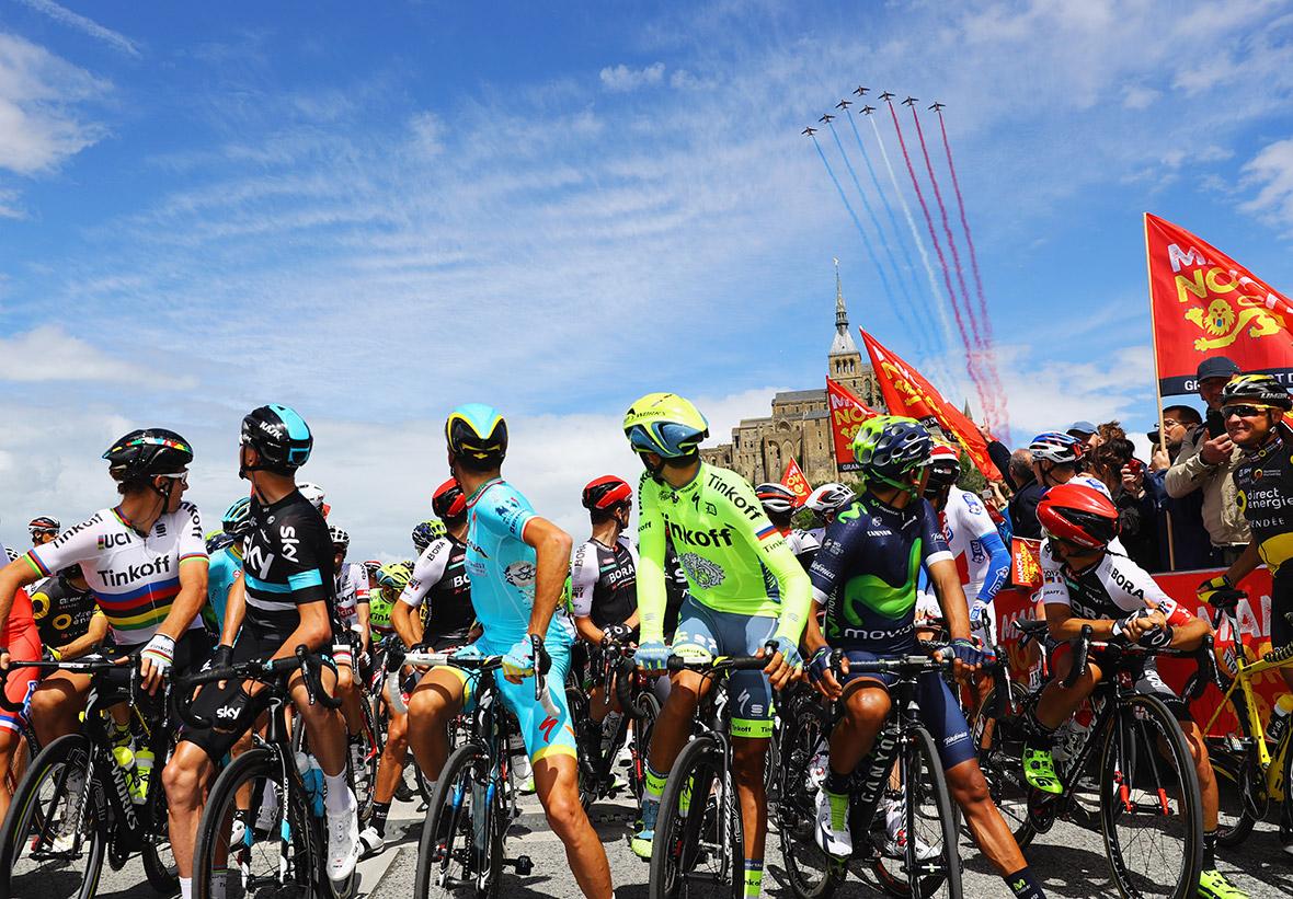 amateur race the tour de france