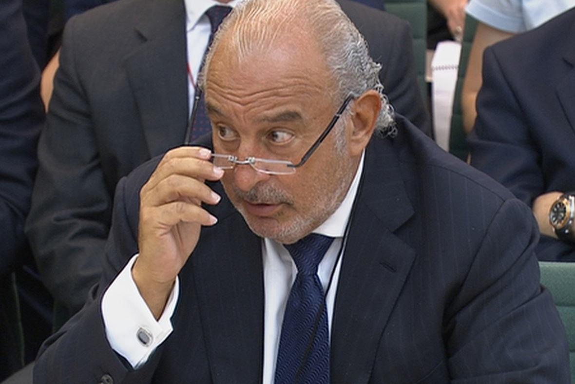 Philip Green Fires Legal Warning To Labour Mp Frank Field Over Bhs Pension Deal