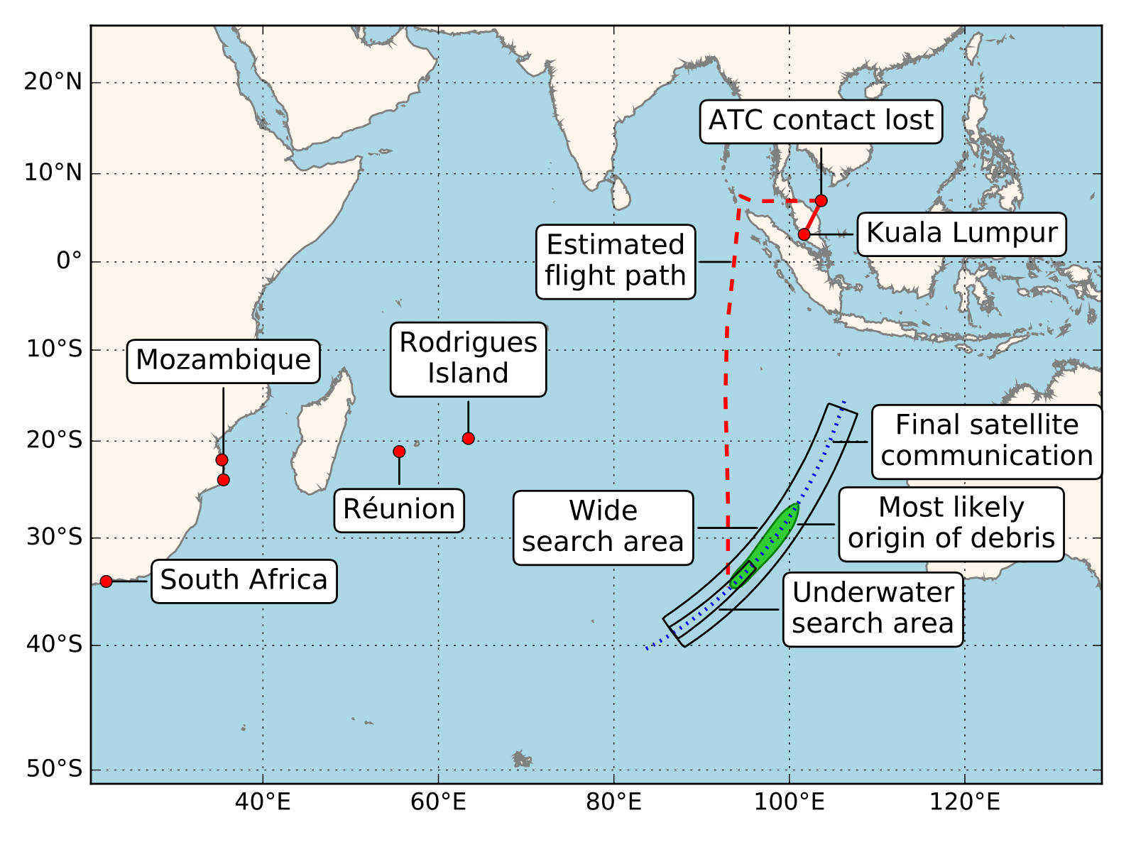 Mh370 Experts Attempt To Define New Search Zone By Using