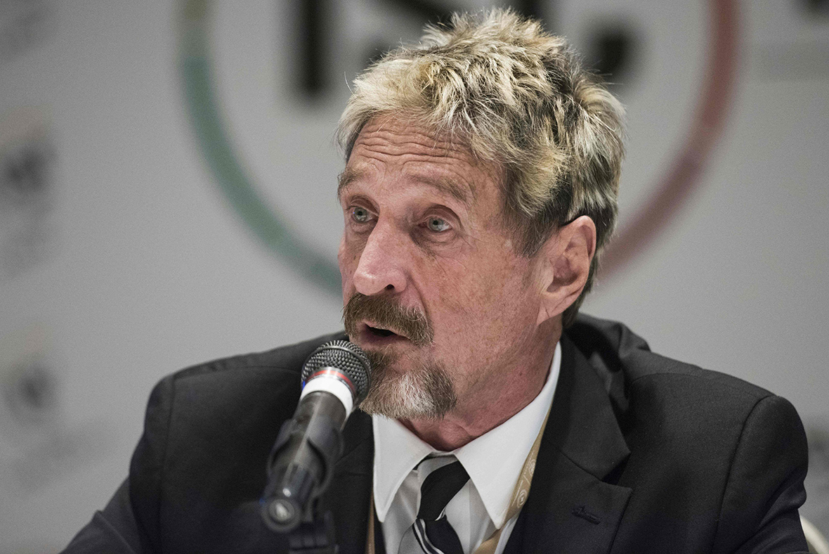John Mcafee Why Mixing Smartphones And Bitcoin Will Leave