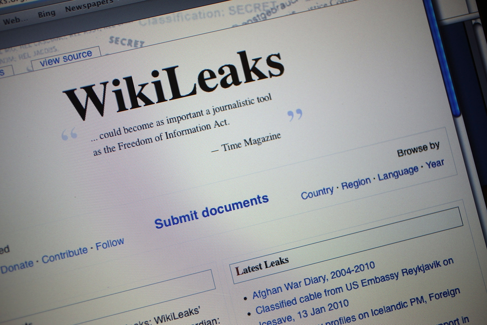 wiki leaks Founded in 2006 by julian assange, wikileaks is a multi-national media organization that publishes restricted, official government materials.