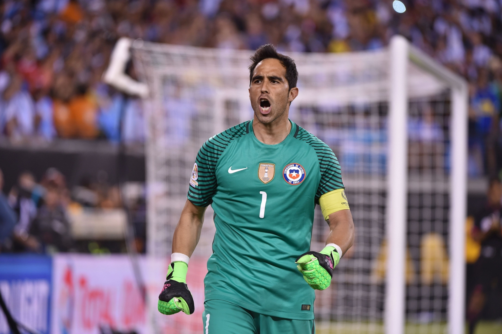 Manchester City Club confirm Claudio Bravo signing as Joe Hart