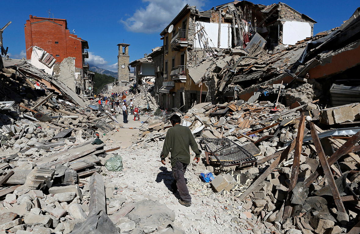 Umbria earthquake: Why does Italy suffer more tremors than rest of ...