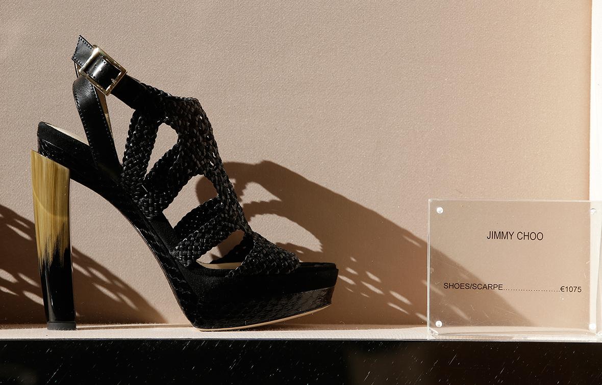 Designer shoe brand Jimmy Choo puts itself up for sale