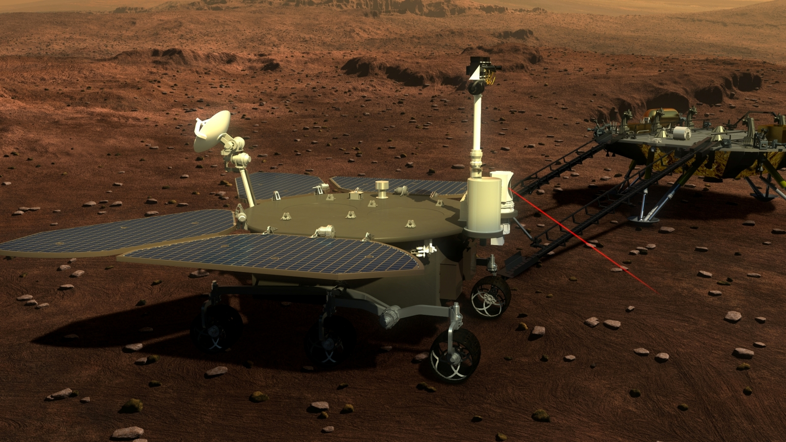 2020 China Mars Mission: China unveils probe and rover details