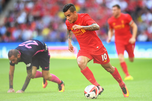 Image result for philippe coutinho 2016-17