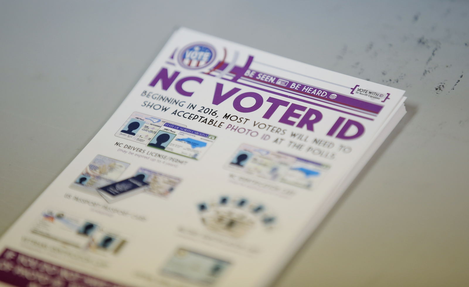 voter id If your voter information card (commonly called a voter id card) has been lost,  stolen or destroyed, you can request that a replacement card be mailed to you.