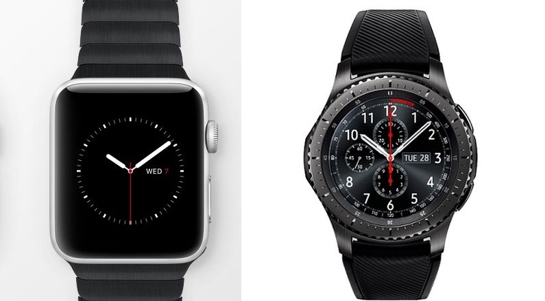 Apple watch 2 vs gear s3 specs comparison of the wearables and which one should you buy for Watches gear