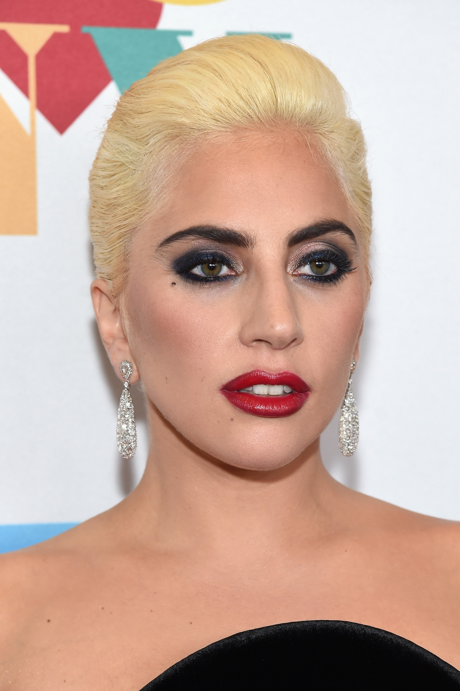 Lady Gaga protests outside Trump Tower in New York Lady Gaga