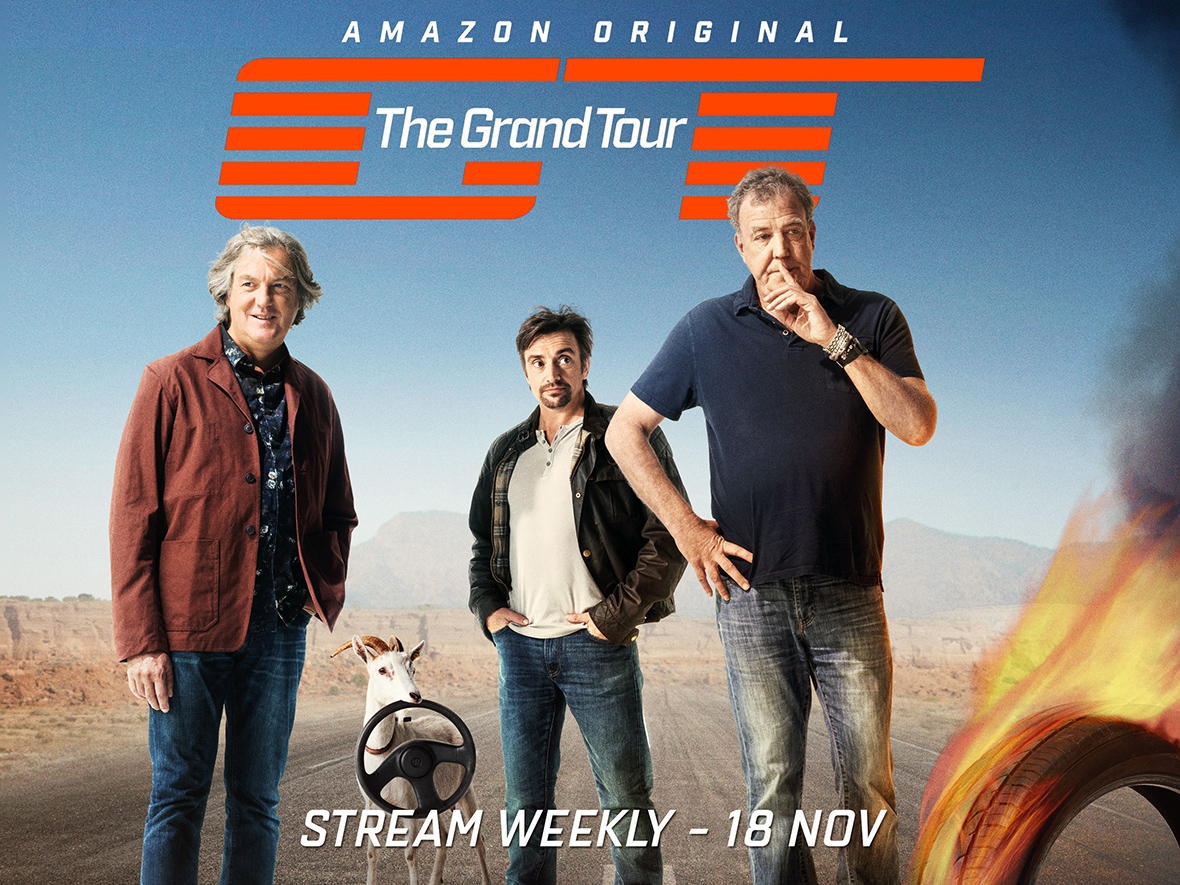 the grand tour was jeremy clarkson 39 s 160m new amazon show a grand success. Black Bedroom Furniture Sets. Home Design Ideas