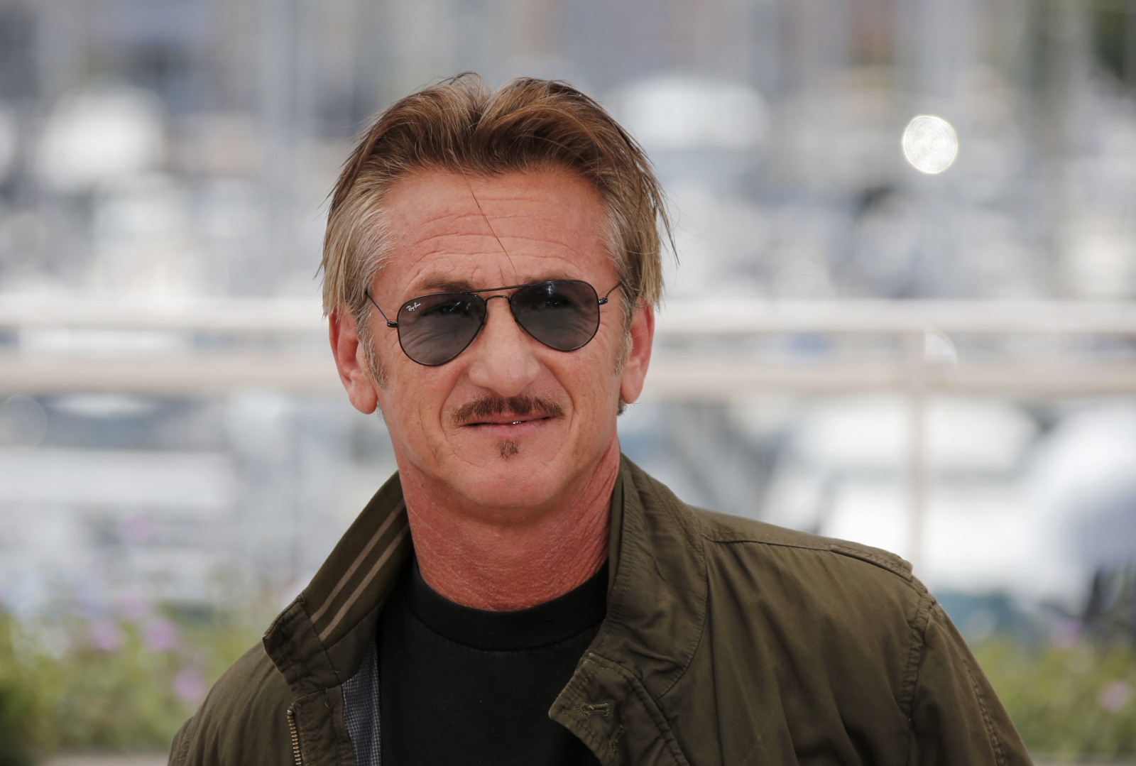 Sean Penn spotted with...