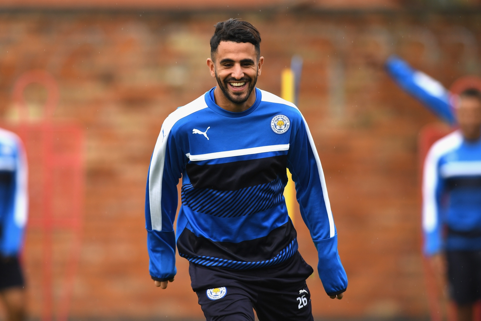 Riyad Mahrez Leicester star reveals there was contact over