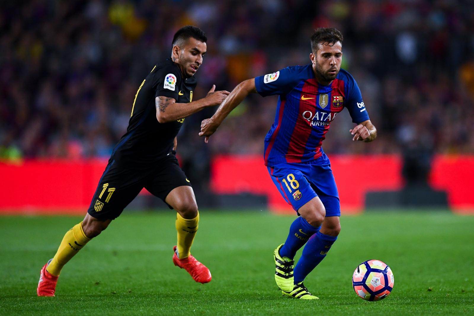 Barcelona injury news Jordi Alba returns to training ahead of