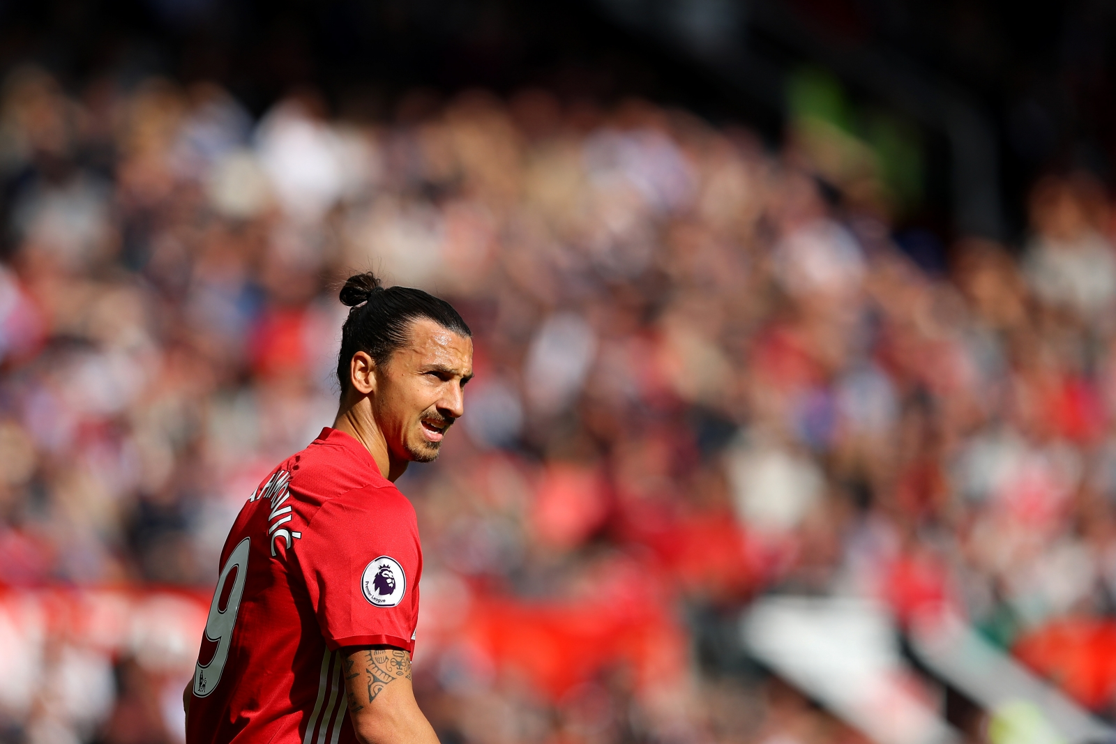 Zlatan Ibrahimovic: Manchester United striker named as Premier League
