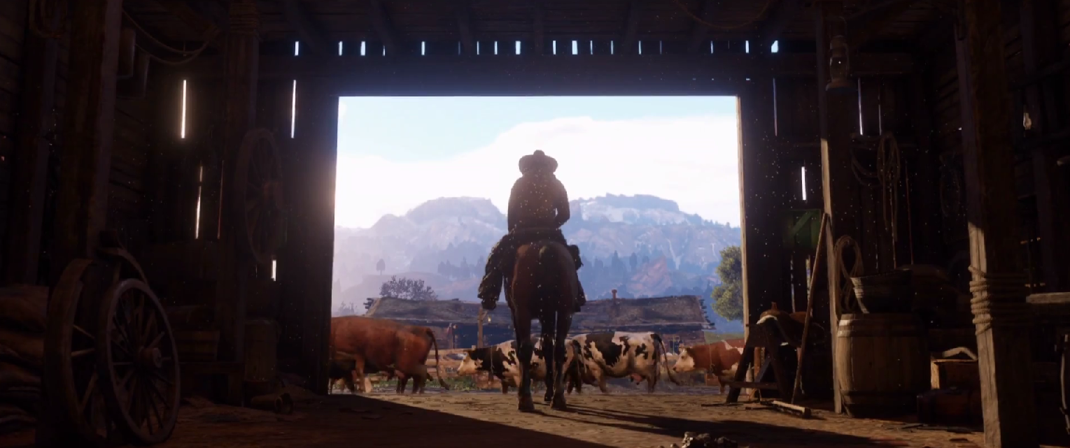 red dead redemption 2 teaser trailer debuts
