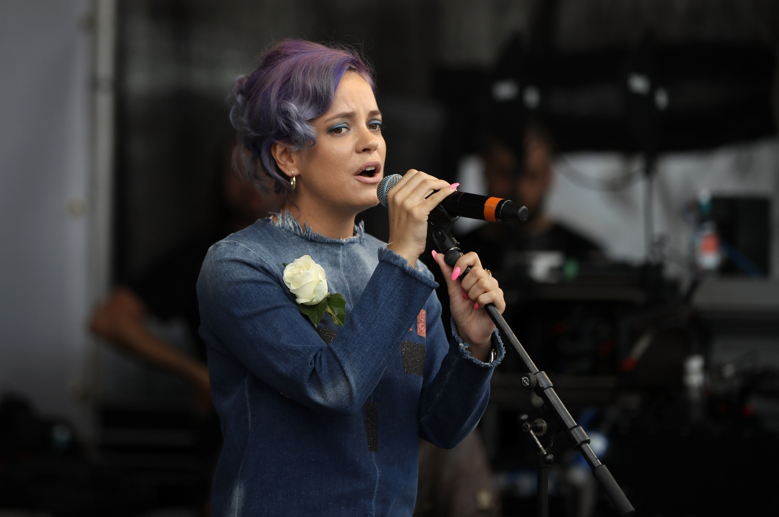 Lily Allen says London... Lily Allen