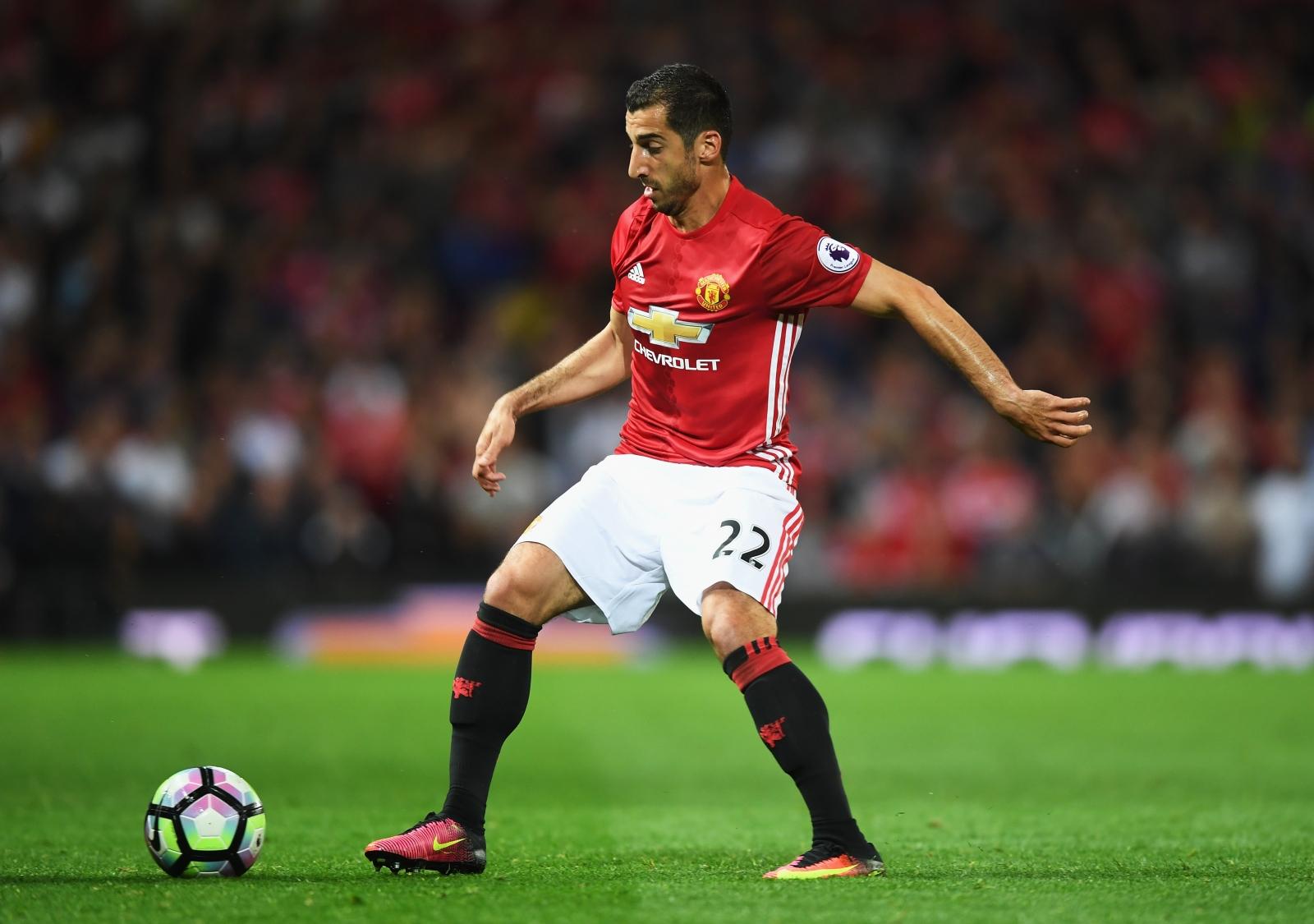 Henrikh Mkhitaryan Manchester United midfielder is baffled by